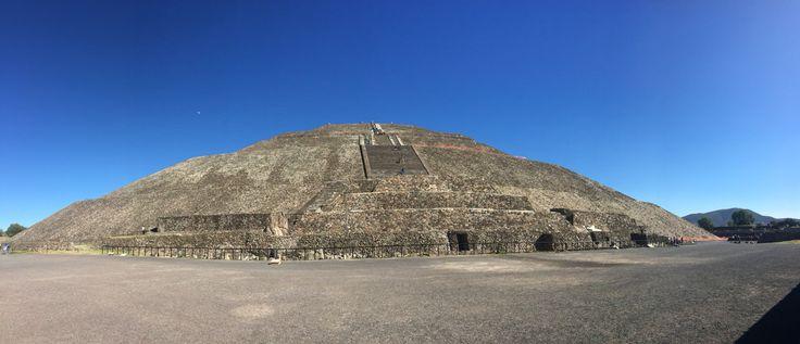 Teotihuacan pyramids. Mexico City