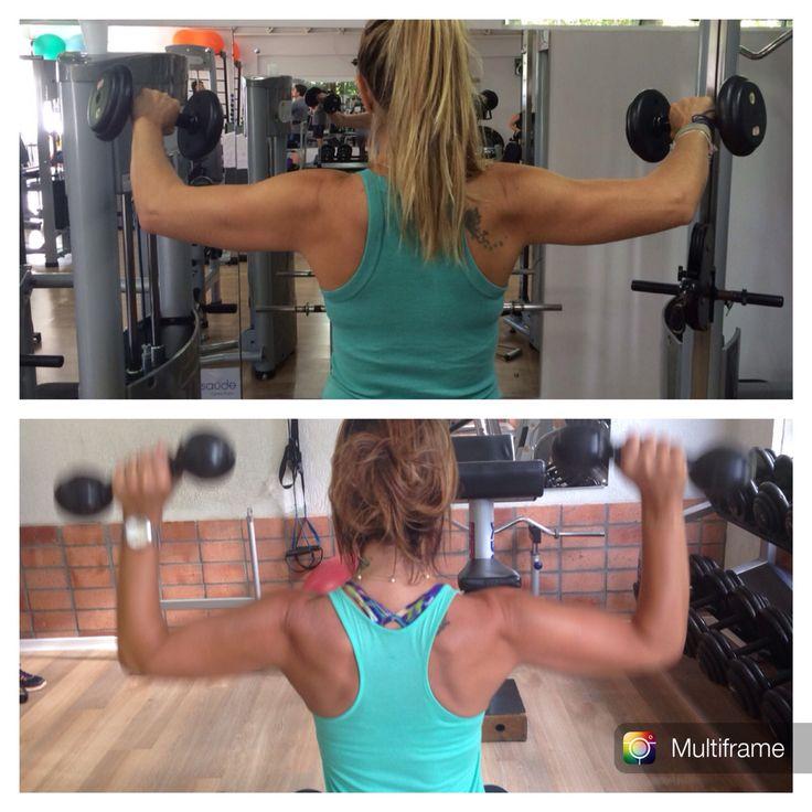 Exercicios para ombros!#desencolvimento e #elevaçãolateral
