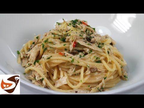 Spaghetti tonno e limone – Ricetta gustosissima, facile e veloce - YouTube