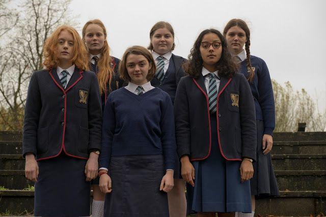 Pan: Film Review   Maisie williams, School girl dress