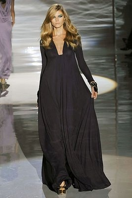 Hijab Style: Abaya Design Inspiration    GUCCI gown. al it needs is a ruffle under shirt and matching hijab