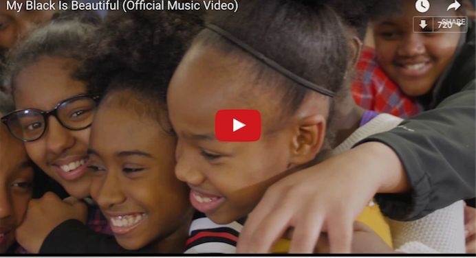 Teacher Reaffirms 'Black Is Beautiful' By Making This Must See Empowering Video