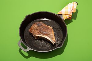 How To Broil Steak Recipe | Searing a frozen steak and then cooking it slowly in the oven is not only super-easy, but ensures a perfect piece of meat every time.