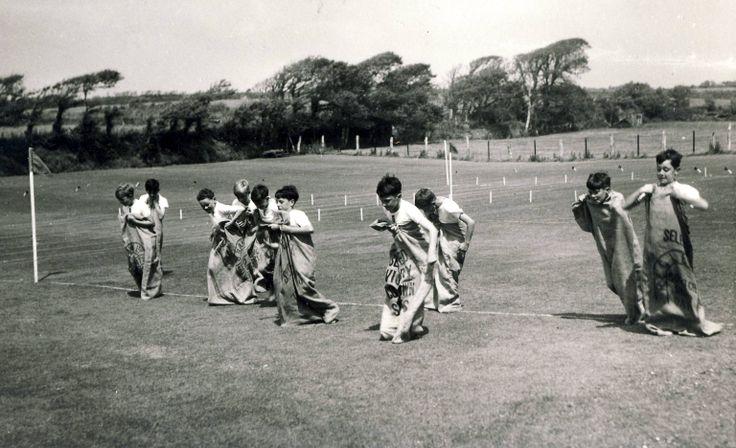 Sack Race Sports Day, 1959