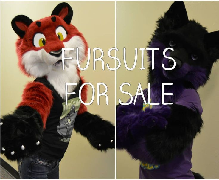 Two days left to place a bid! Both of these suits are for sale at TheDealersDen.com  head on over and take a look! #fursuit #fursuitpartial #fursuitforsale #furry #furryfandom #furries #fursuitmaker