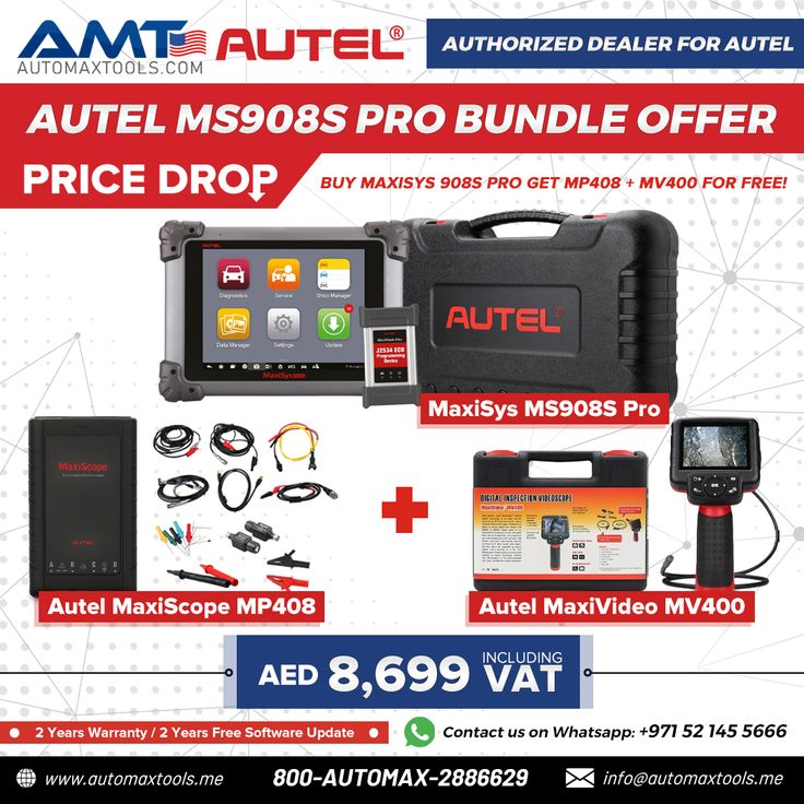 Autel MaxiSys MS908S Pro Bundle Offer PRICE DROP ⬇! in