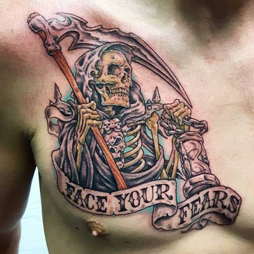 Grim Reaper Tattoo Nordic Tattoo: 62 Best Azrail Dövmeleri / Grim Reaper Tattoos Images On