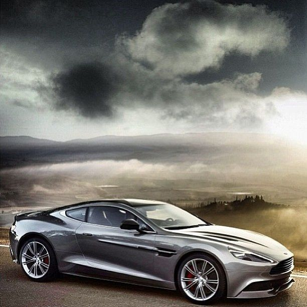 Simply beautiful Aston Martin Vanquish! This would be my lotto car!