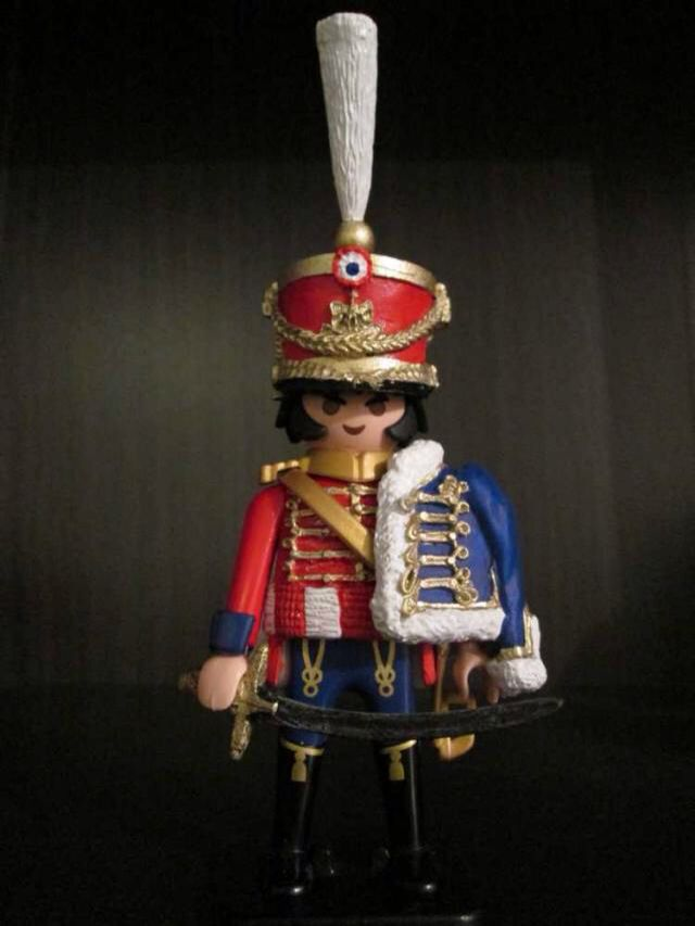 Playmobil Custom - Napoleonic 13e Hussar by Domitim