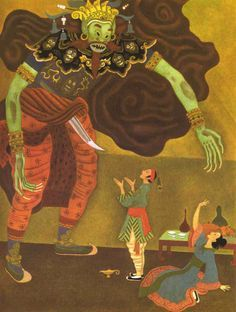 The Art of Children's Picture Books: Tales from the Arabian Nights, Gustaf Tenggren
