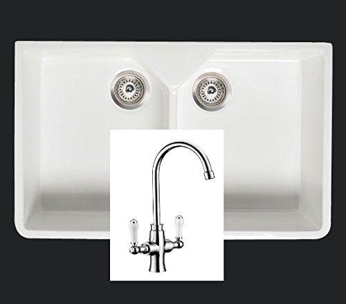 Rak Double Farmhouse Belfast Butler Sink Includes Tap and Wastes Plumbing kit Thomas and Holland http://www.amazon.co.uk/dp/B00MDHURD8/ref=cm_sw_r_pi_dp_qtTAvb1GPZFZJ