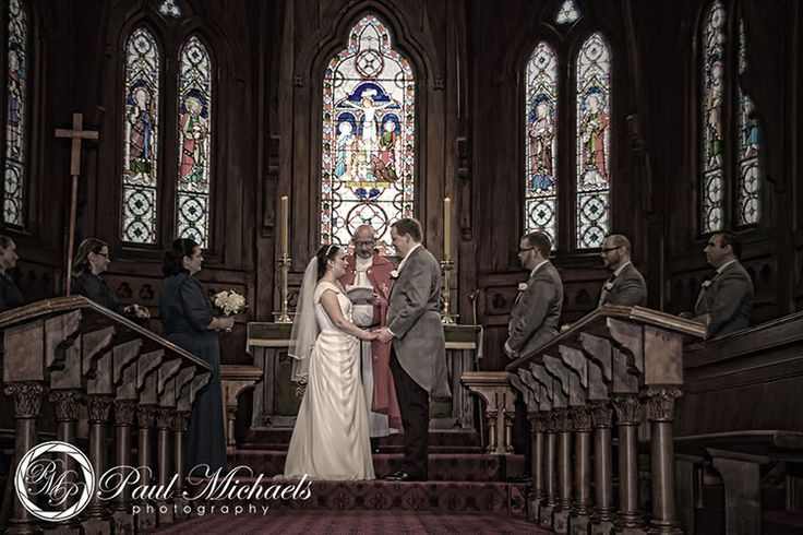 Ceremony at Old St Pauls church. PaulMichaels Wellington wedding photography http://www.paulmichaels.co.nz/