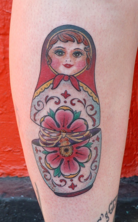 Stand Out Hair Designs Peak Hill : Russian doll i m do excited my tattoo is just around the