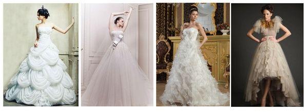 свадебные платья с драпировками #wedding #dress #wedding_dress
