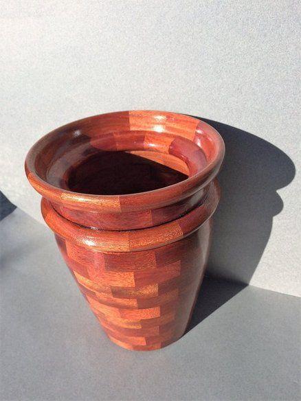 Bloodwood Vase