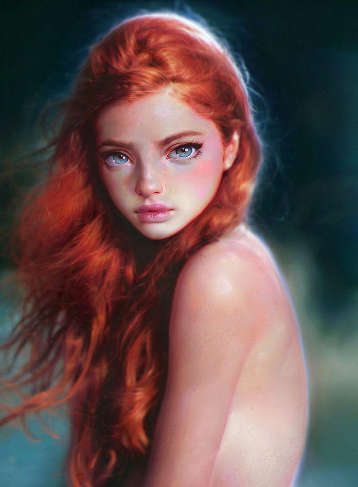 Alucinante retratos femeninos de Irakli Nadar