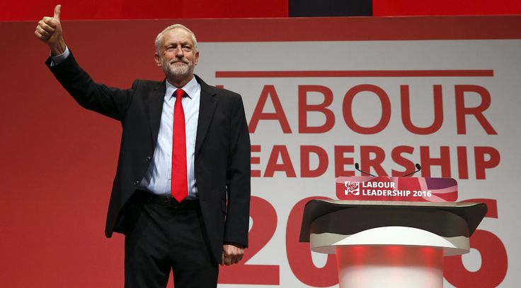 RT.com, Sept 24, 2016    Jeremy Corbyn has been re-elected as leader of the Labour Party, winning a massive 61.8 percent of the vote, an even larger margin than his original election win in 2015. Corbyn saw off opponent Owen Smith on Saturday wit