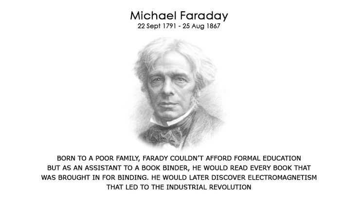 Faraday never had a formal education which is why, he couldn't put on paper what his mind was capable of - I wonder if Faraday had an education, what more wonders he could have contributed to the world. Please help us raise a fund so that every child get's an equal oppertunity