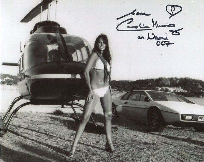 Caroline Munro Photo Signed In Person - James Bond - A778