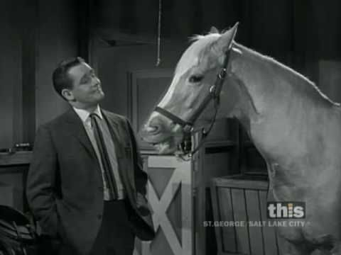 Love Mr. Ed! Clint Eastwood Meets Mister Ed - 1 of 2 (Captioned)