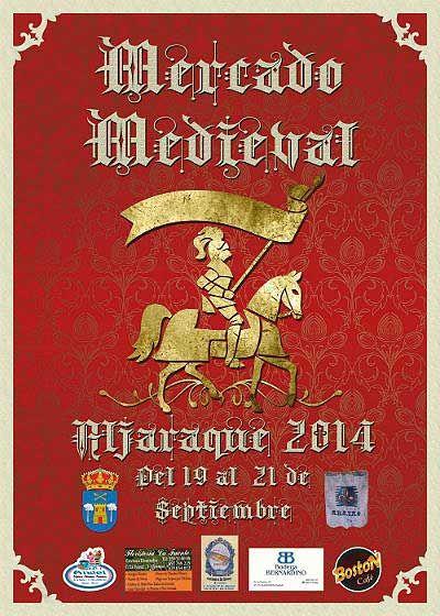 #MercadoMedieval en Aljaraque #Huelva 19-21 sept.