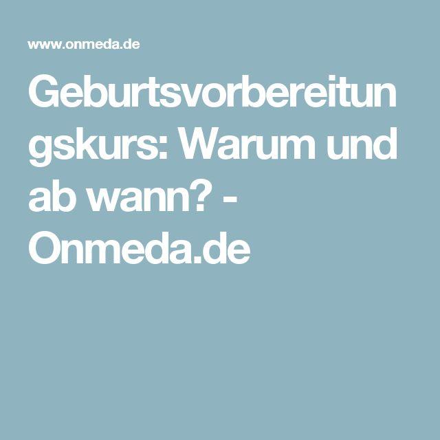 Geburtsvorbereitungskurs: Warum und ab wann? - Onmeda.de