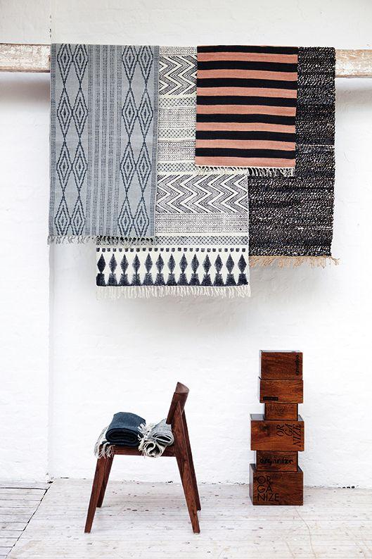 Pretty rugs from Liljor och Tulpaner.