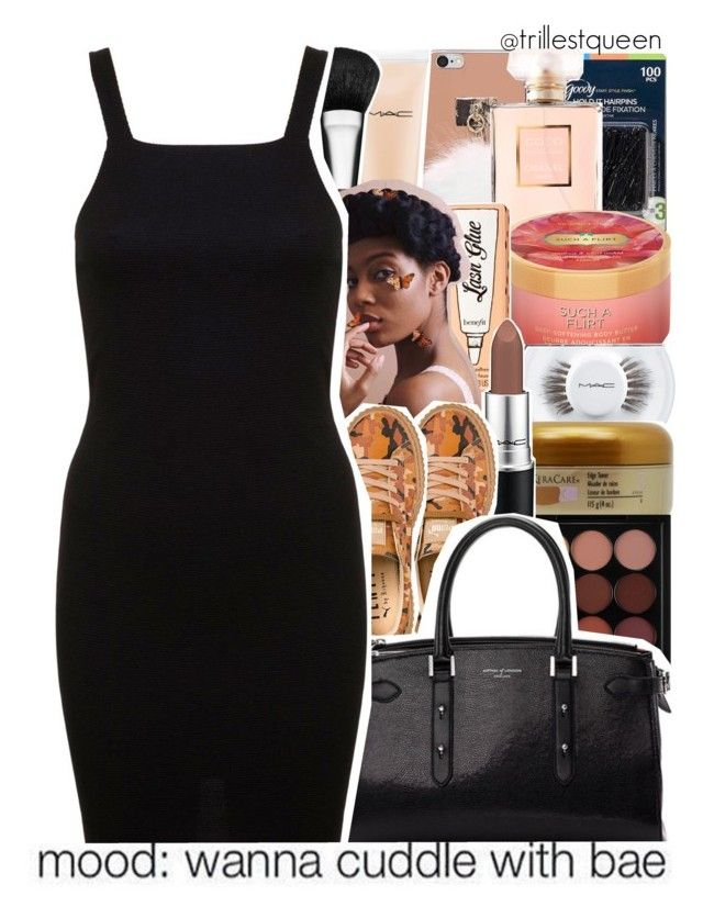 """""""11-10-2016."""" by trillestqueen ❤ liked on Polyvore featuring Goody, Chanel, Victoria's Secret, MAC Cosmetics, Benefit, Puma, Aspinal of London, Miss Selfridge and xO Design"""