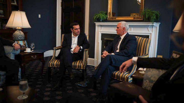 Ο αντιπρόεδρος των ΗΠΑ Μάικ Πενς συνεχάρη τον πρωθυπουργό Αλέξη Τσίπρα για την επιστροφή της Ελλάδας στην οικονομική ανάπτυξη και στις χρηματοπιστωτικές αγορές, επανέλαβε την υποστήριξη των ΗΠΑ για…
