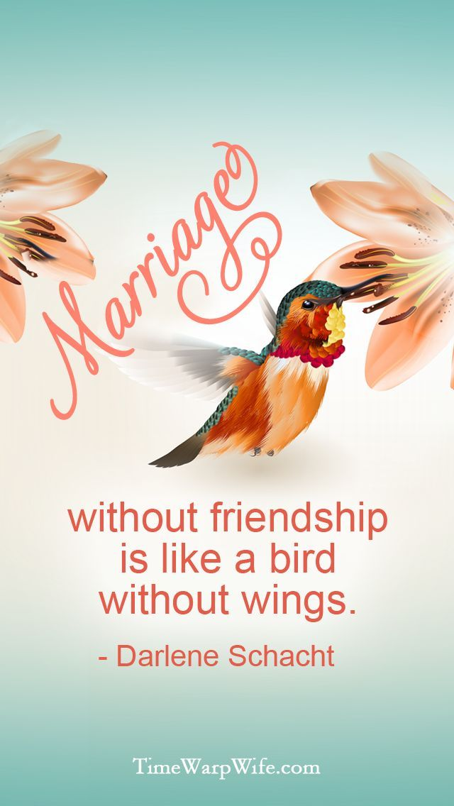 Best love Sayings & Quotes    QUOTATION – Image :    Short love quote – Description  Marriage without friendship is like a bird without wings.  Sharing is Sexy – Don't forget to share this quote with those Who Matter !