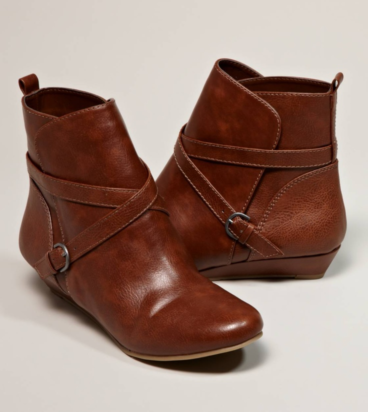 AEO Wedge BootieShoes, Ankle Booty, American Eagles Outfitters, Aeo Wedges, American Eagle Outfitters, Booty 60, Wedges Booty, Wedges Boots, Leather Booty