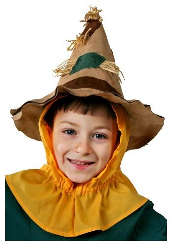 Kids Scarecrow Character Hat - Wizard of Oz Scarecrow Accessories