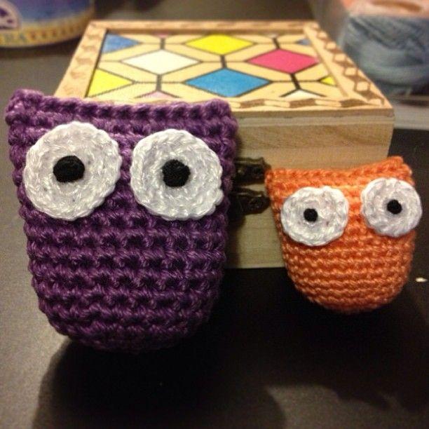 #amigurumi  #owl