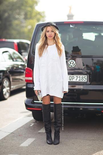 25  best ideas about Sweater Dress Boots on Pinterest | Dress ...