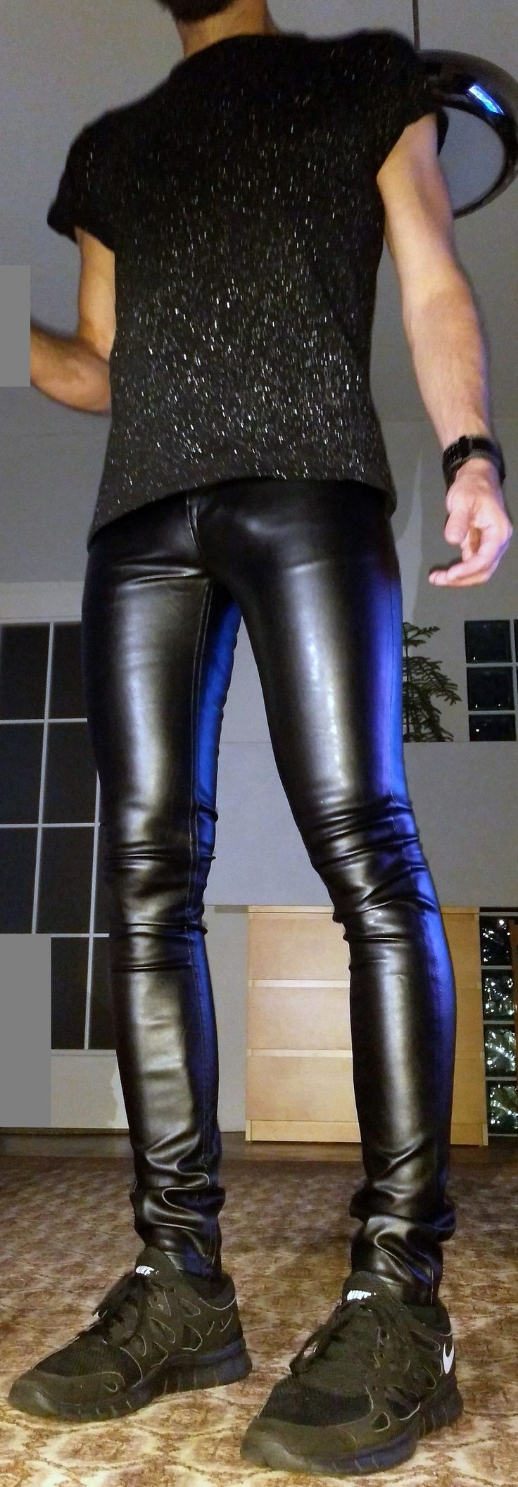tight leather