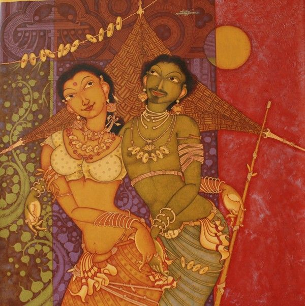 Tribal Couple by MAnikandan Punnakkal