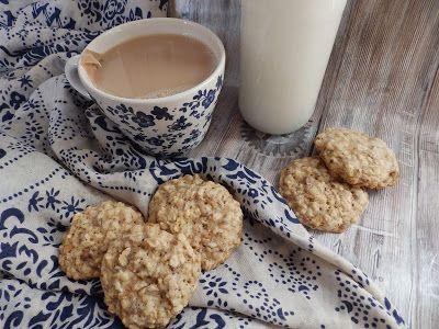Veggie Fish: Ovesné sušenky s vlašskými ořechy