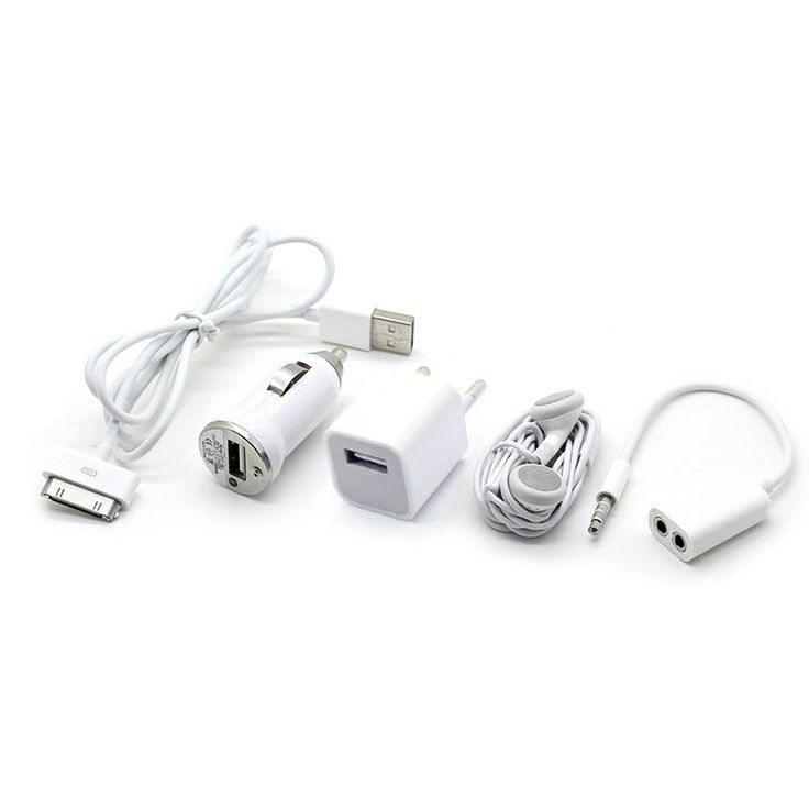 Mini 5 in 1 Charger Kit για iPhone 4/4s/iPad2/iPad3