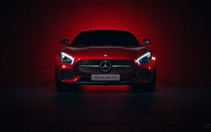 Mercedes Amg Gts 4k Hd Red Desktop Wallpaper Mercedes Amg Mercedes Benz Cars Mercedes