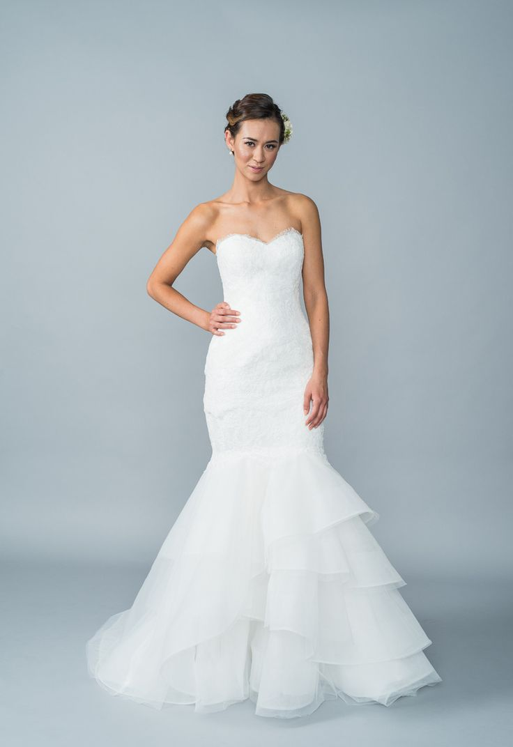 269 best I Like These Strapless Wedding Dresses images on Pinterest ...