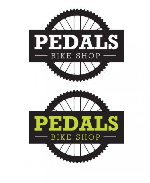 pedals bike shop logo