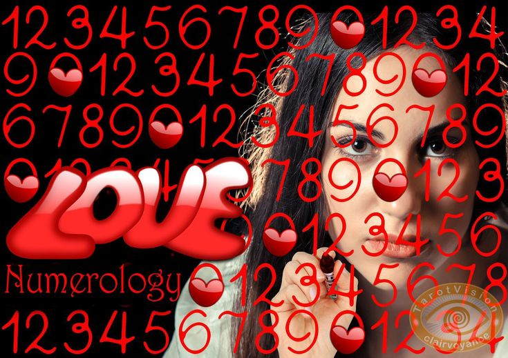 Who is the sexy love partner? Find out in the numerology mirror.