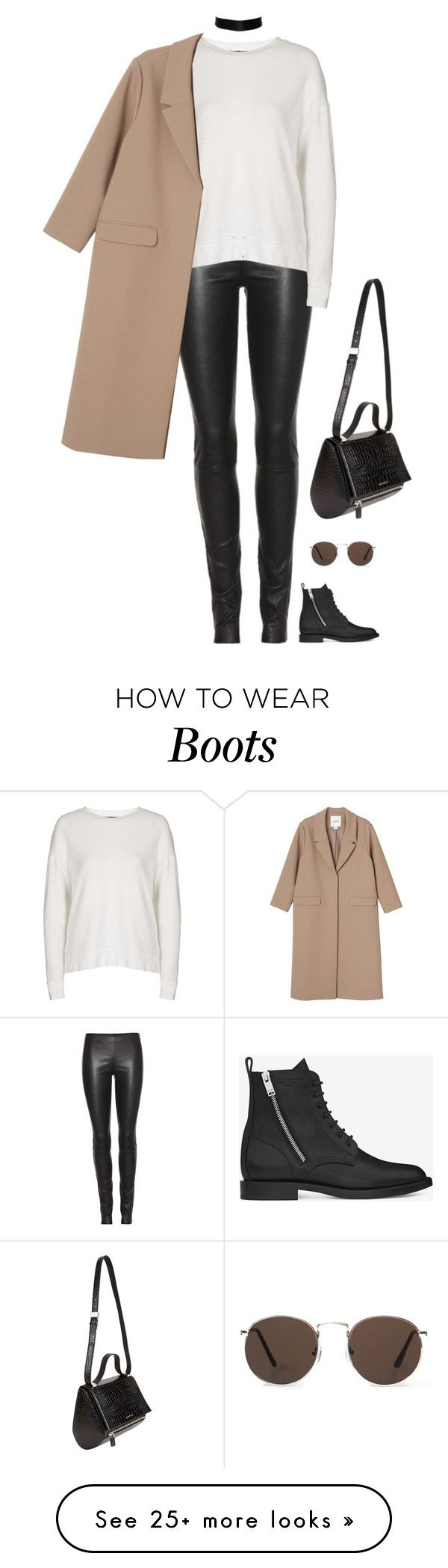 """""""Unbenannt #505"""" by llsbo on Polyvore featuring The Row, Yves Saint Laurent, Topshop, MANGO, Monki and Givenchy"""