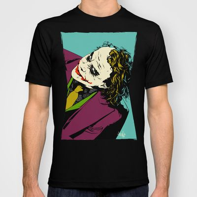 Joker So Serious T-shirt by Vee Ladwa - $22.00