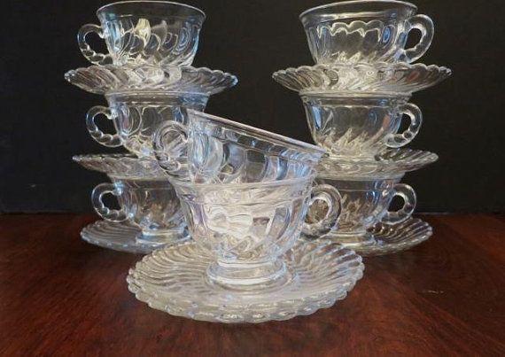 Pin By Weidenbachdanuta On Bibeloty In 2020 Glass Tea Cups Glass Tea Tea Cups Vintage