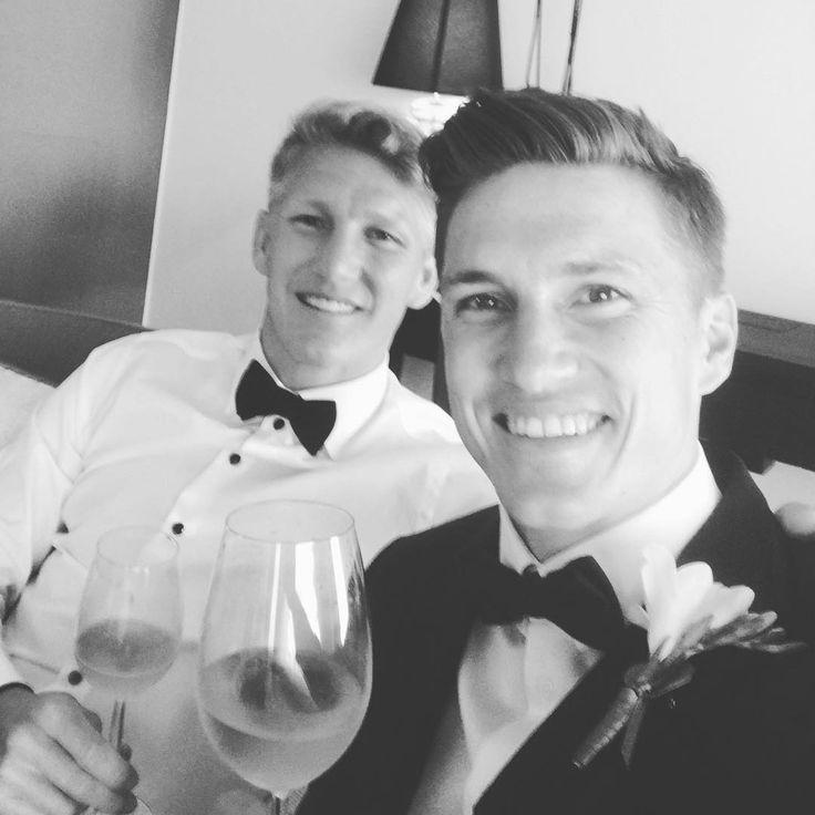 Bastian and Tobias Schweinsteiger