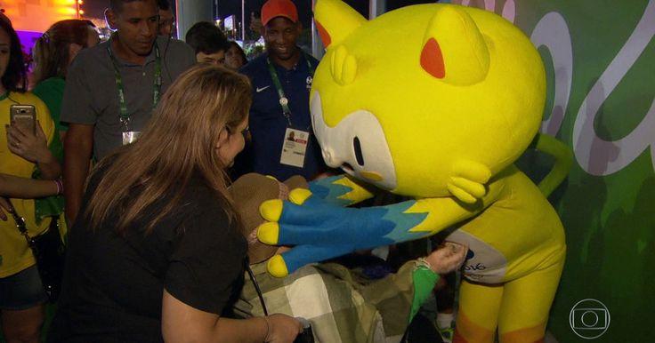 Vinícius, mascote da Rio 2016, vira febre olímpica