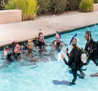 One World Dive & Travel | Denver, Colorado | Offers PADI group scuba lessons, private scuba lessons, snorkeling classes, travel agency, guided adventure travel, retail equipment, rental gear, swim lessons and equipment servicing.