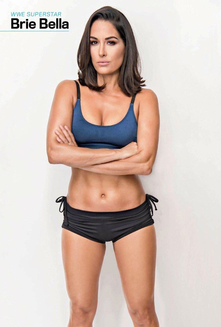 Brie Bella Looks Amazing With Short Hair  Brie Bella -6101