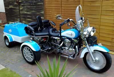 three seat harley trike | Harley Sportster Trike - Harley Trike